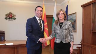Захариева пожела Северна Македония в НАТО до края на годината