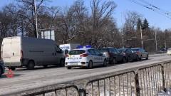 Верижна катастрофа блокира Цариградско шосе