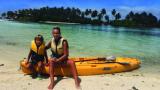 Нана Гладуиш: Едва не се убих с кану на Малдивите