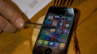 Причудлив iPhone след силна ракия