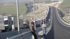 Интензивен е трафикът на българо-гръцка и на българо-турската граница