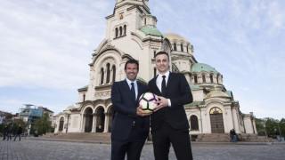 Президентът Радев приема Димитър Бербатов и Луиш Фиго