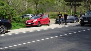 Верижна катастрофа блокира пътен възел Благоевград-ЮГ и Симитли