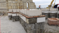 С уникален за България метод реставрират Голямата базилика в Плиска