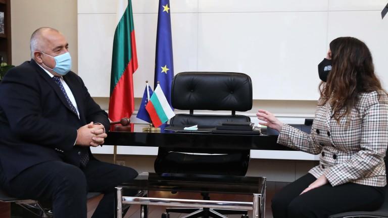 За съвместна декларация за 5G сигурност говорили Бойко Борисов и Херо Мустафа