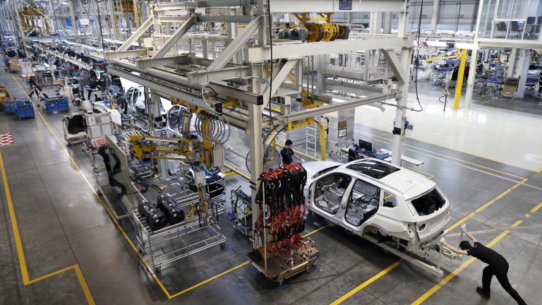 Във Великобритания произведоха само 197 автомобила за месец
