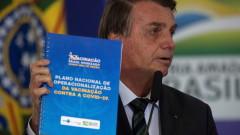 Болсонару подкрепи ваксинацията срещу коронавирус, въпреки личното си мнение