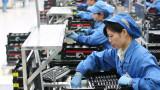 Производствената активност в Китай се свива по-бързо от очакваното