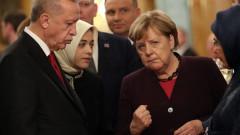 Ердоган и Меркел обсъдиха Сирия и Либия