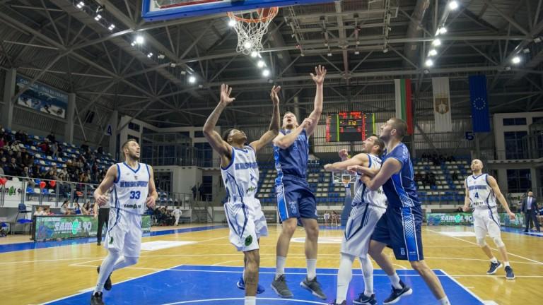 Носителят на Купата на България по баскетбол Рилски спортист спечели