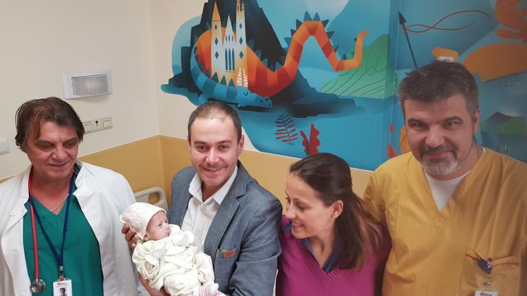 "Спасиха две бебета с вродени аномалии в ""Пирогов"""