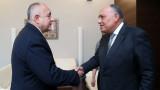 Борисов обсъди развитието на сътрудничеството ни с Египет и с Израел