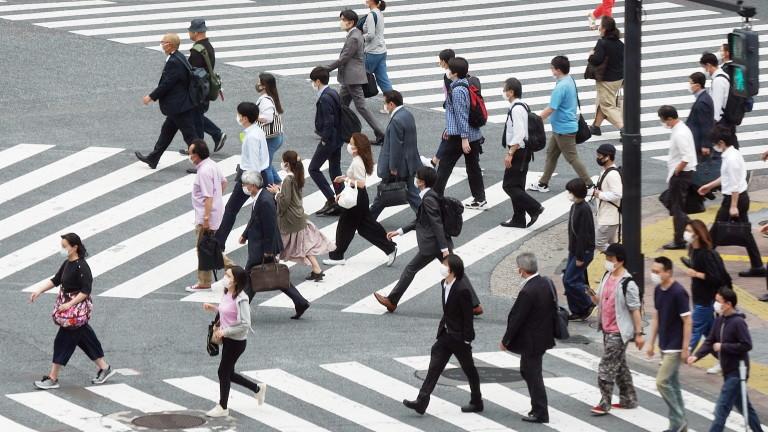 Нивото на свободните работни места в Япония се срина до 1974 г.