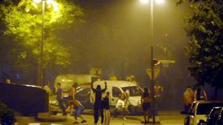 Имигранти се стреляха с полицията в Гренобъл