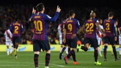 Барселона победи Райо Валекано с 3:1 у дома