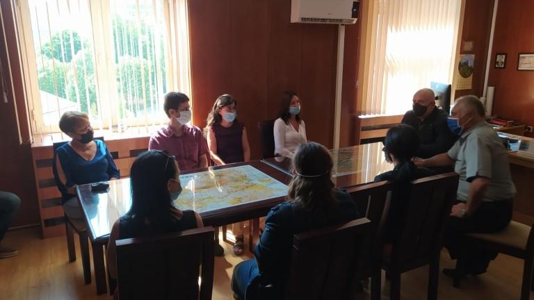 Главният прокурор Иван Гешев посети и градовете Стара Загора и