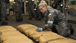 Австралийски кораб иззе почти 8 тона хашиш в Арабско море