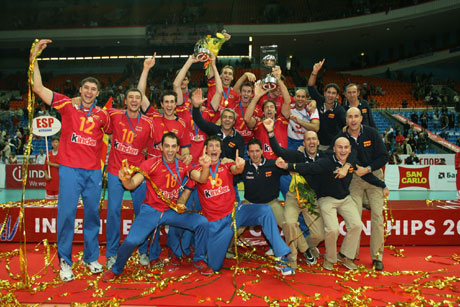 Испания е новият европейски шампион по волейбол