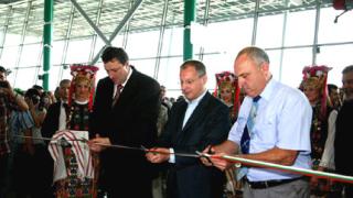 Новият терминал на летище Пловдив - изграден за рекорден срок