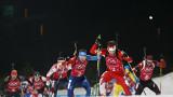 Швеция спечели мъжката щафета в биатлона, провал за България