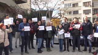 Пловдивчани протестират срещу унищожаването на парк