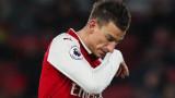 Лоран Косчелни обмислял да напусне Арсенал заедно с Арсен Венгер