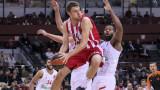 Александър Везенков и Олимпиакос се справиха с шампиона ЦСКА (Москва)