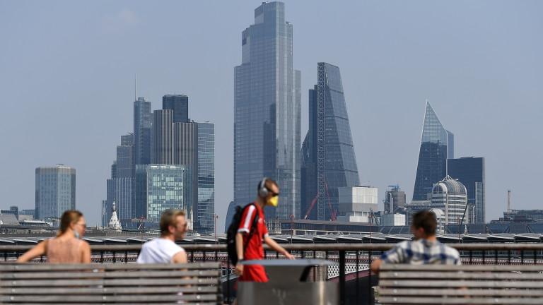 """Европа е """"спечелила"""" финансови активи от €1,2 трилиона заради Брекзит"""