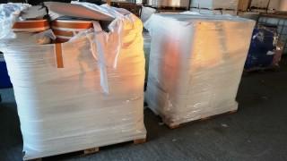 """Митничари задържаха 1360 кг филтърна хартия за тютюн на ГКПП """"Дунав мост 2"""""""
