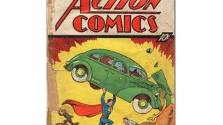 Първият комикс за Супермен пуснат на онлайн търг
