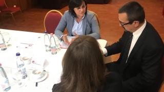 Нинова предупреди Чехия, че БСП ще се бори за активите на ЧЕЗ у нас
