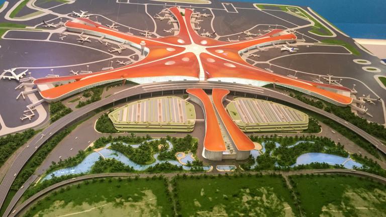 Компанията зад най-високата сграда в света започва проект за $11 милиард на новото летище в Пекин