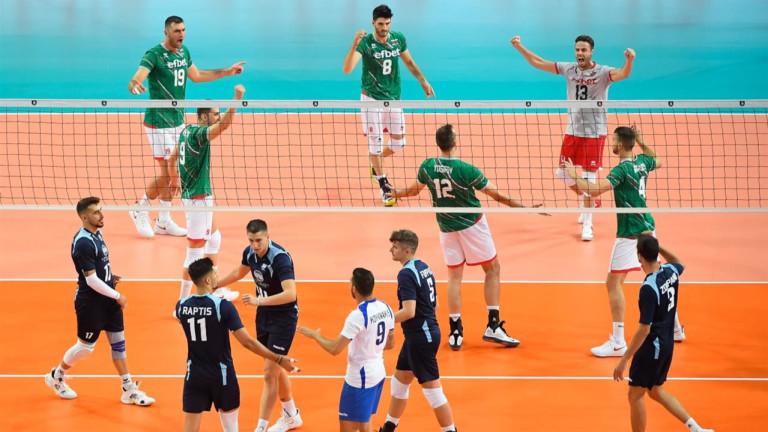 България започна с победа участието си на Евроволей 2019
