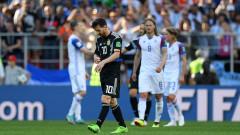 Аржентина и Исландия завършиха 1:1, Лионел Меси изпусна дузпа