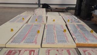Митничари заловиха 5000 кутии цигари в куриерска пратка с термопанели