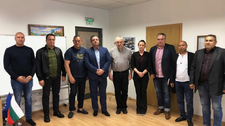 Ръководството на Камарата на строителите в България (КСБ) проведе работна