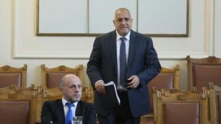Борисов отказа на БСП да спори откъде изгрява слънцето