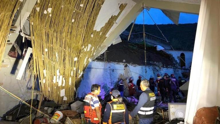Снимка: 15 жертви на сватба в Перу