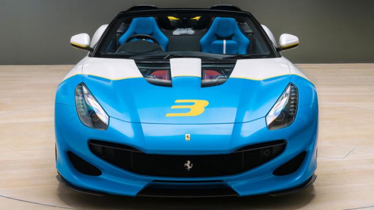 Италианската компания показа суперавтомобила Ferrari SP3JC - изключителен роудстър .Най-новият