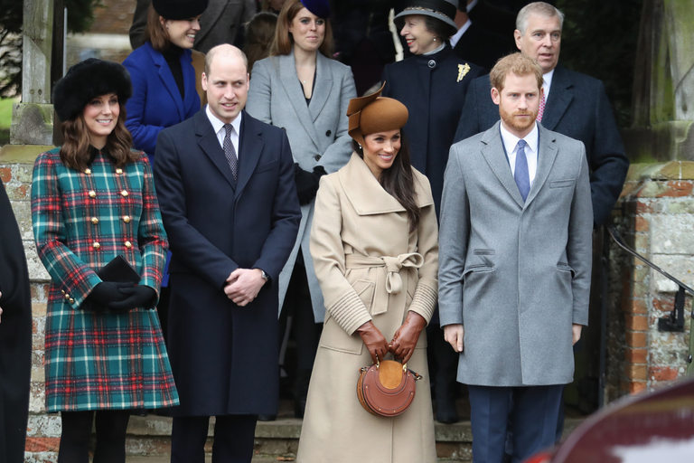 Двете кралски двойки на миналата Коледа