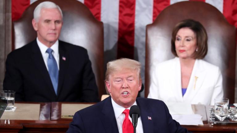 Резолюцията за импийчмънт на Тръмп е за подстрекателство към метеж