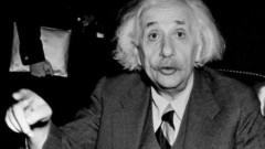 Предадоха за 2,9 млн. долара писмо на Айнщайн за Бог