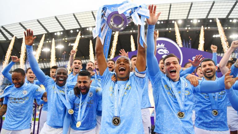 Манчестър Ситиима най-много представители в отбора на годината на Професионалната