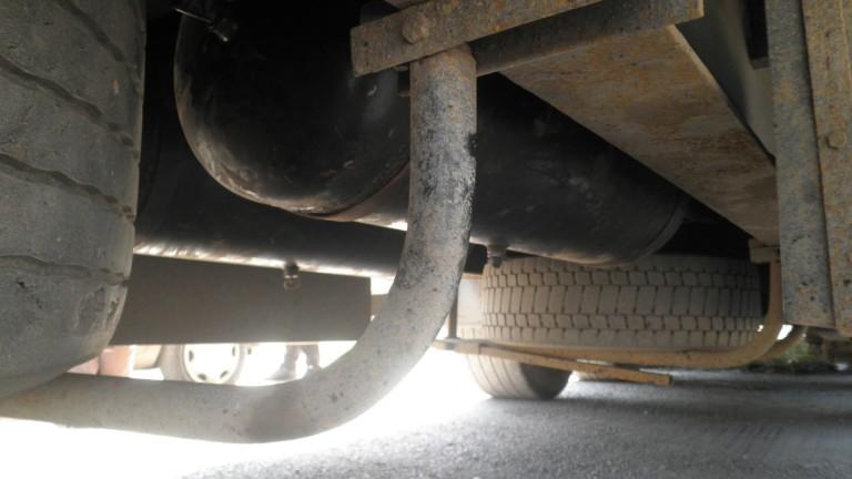 На ТИР-паркинг в Хасково полицаите от ГДБОП са сгащили шофьор