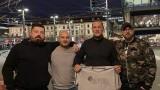 Ултрасите на ФК Цюрих пожелаха успех на ЦСКА срещу Йънг Бойс