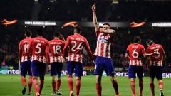 Атлетико гледа към 1/4 финалите в Лига Европа след 3:0 над Локо (Москва)