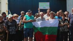 Протестиращи блокираха пътя София-Бургас срещу строителство на кариера за варовик