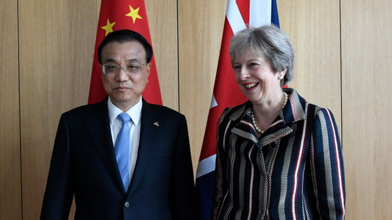Британският премиер Тереза Мей подчертава важността на международното морско право