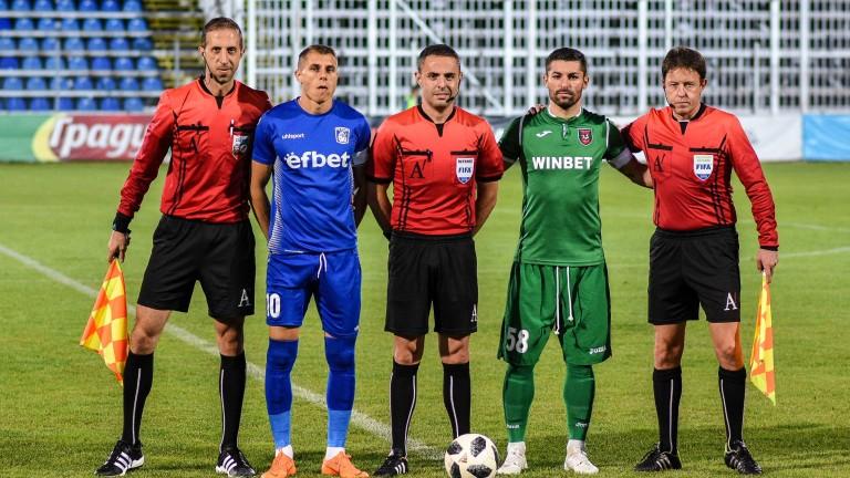 Футболистът на Верея Антон Огнянов призна след равенството с Ботев