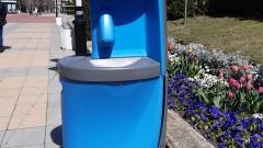 Поставиха пластмасови чешми за дезинфекция в Асеновград